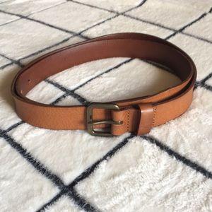 LOFT EUC Brown Leather Belt